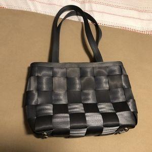 Harveys Gray Seatbelt Handbag